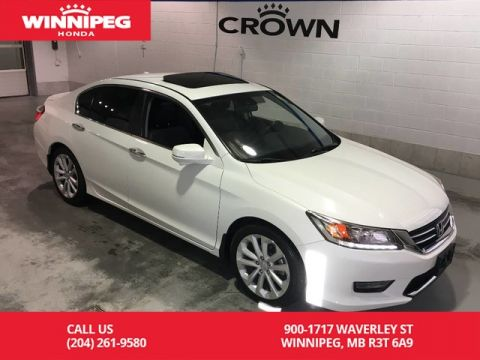 Pre-Owned 2014 Honda Accord Sedan Touring/Navigation/Sunroof/Heated seats/Rear view camera