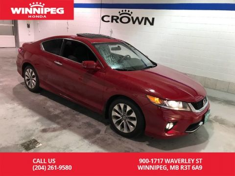 Pre-Owned 2015 Honda Accord Coupe EX/Sunroof/Heated seats/Bluetooth/Rear view camera
