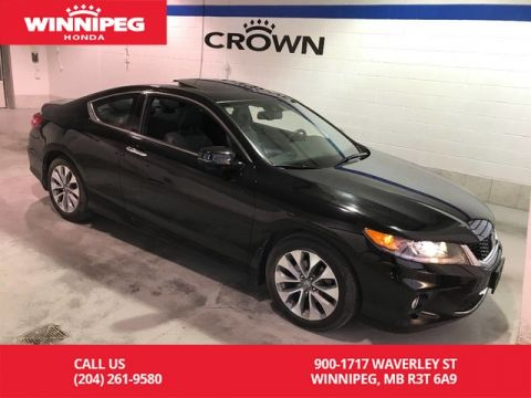 Pre-Owned 2014 Honda Accord Coupe EX-L w/Navi/Bluetooth/Rear view camera/Heated seats/Leather