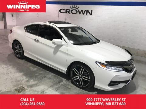 Certified Pre-Owned 2016 Honda Accord Coupe Certified/Touring/Navigation/Sunroof/Heated seats