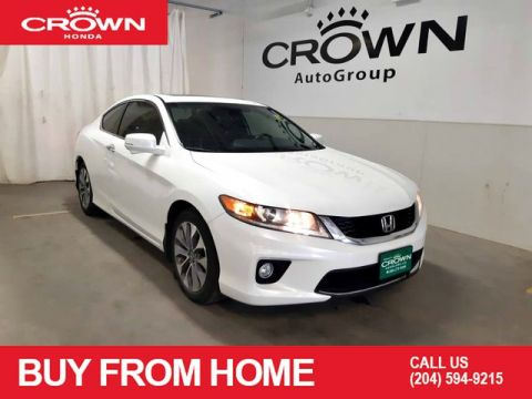 Pre-Owned 2014 Honda Accord Coupe EX-L w/Navi