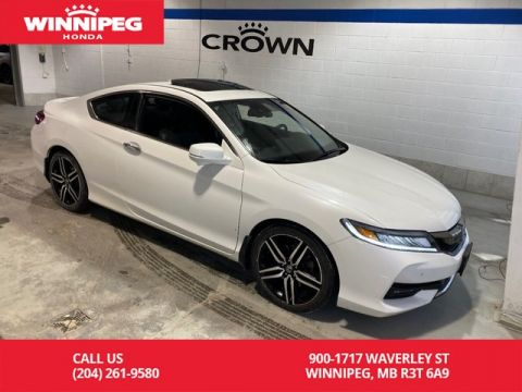Pre-Owned 2016 Honda Accord Coupe Touring / Certified / Navigation / 7 year/160,000 km warranty / Heated seats