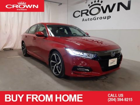 Pre-Owned 2019 Honda Accord Sedan Sport