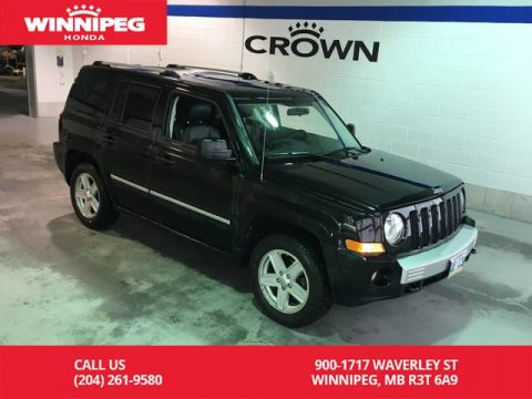 Pre-Owned 2010 Jeep Patriot Limited/navigation/leather/Low kilometres