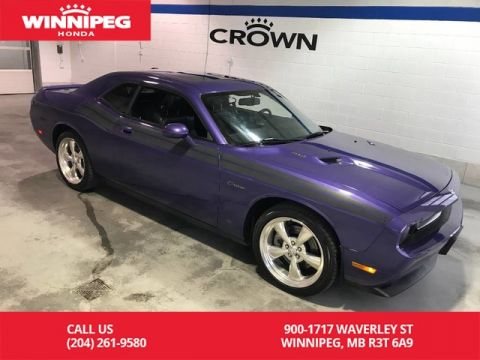 Pre-Owned 2010 Dodge Challenger R/T/Leather/navigation/6 speed manual/Sunroof