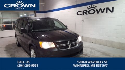 Pre-Owned 2016 Dodge Grand Caravan SXT Plus **Stow and Go** DVD Player**