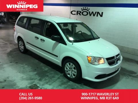 Pre-Owned 2015 Dodge Grand Caravan SE/Cruise/A/C/7 passenger seating/Fold flat 3rd row