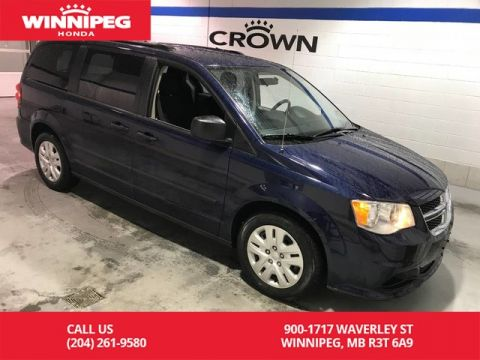 Pre-Owned 2016 Dodge Grand Caravan SE/3rd row folding seats/ECON/Cruise