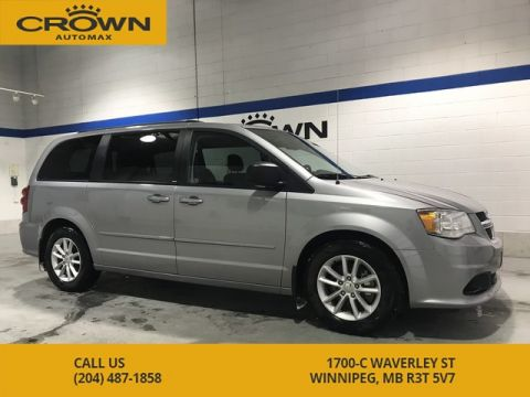 Pre-Owned 2013 Dodge Grand Caravan SXT **Stow and Go** Remote Start** Local Manitoba Trade In**