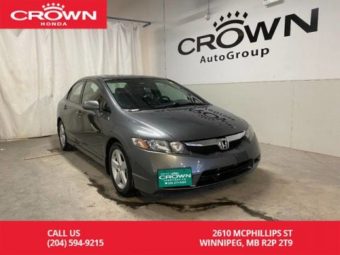 Pre-Owned 2009 Honda Civic Sdn 4dr Auto Sport/ LOW KMS/ REMOTE START/ USB DEVICE CONNECTOR/ SUNROOF