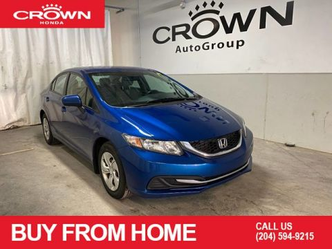 Pre-Owned 2015 Honda Civic Sedan 4dr Man LX/ ACCIDENT FREE HISTORY/ BACKUP CAMERA/ BLUETOOTH CONNECTIVITY/ USB PORTS