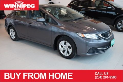 Pre-Owned 2015 Honda Civic Sedan LX / Manual / Bluetooth / Heated seats / Rear view camera