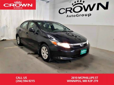 Pre-Owned 2012 Honda Civic Sdn LX/econ mode assist/Bluetooth