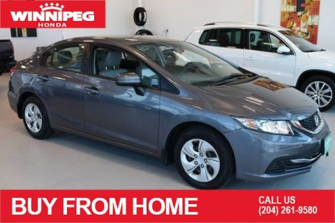 Certified Pre-Owned 2015 Honda Civic Sedan LX / Certified / Bluetooth / Heated seats / ECON mode