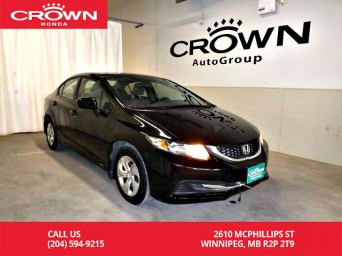 Pre-Owned 2015 Honda Civic Sedan LX/low kms/ back up camera/ heated seats/ econ mode