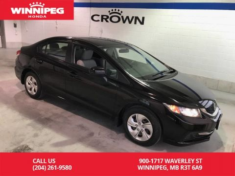 Pre-Owned 2015 Honda Civic Sedan Certified/LX/Bluetooth/Lease return