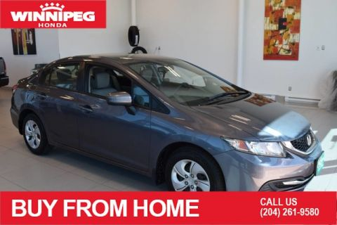Pre-Owned 2015 Honda Civic Sedan LX / Bluetooth / Rear view camera / ECON mode / Heated seats
