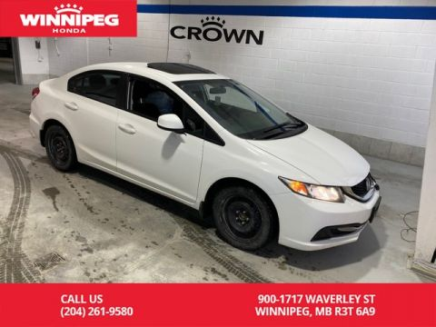 Pre-Owned 2013 Honda Civic Sdn EX / Sunroof / Heated seats / Alloy wheels / Bluetooth