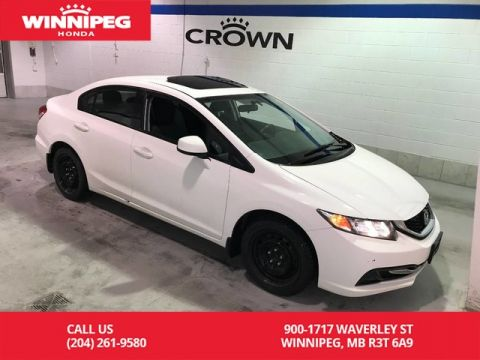 Pre-Owned 2013 Honda Civic Sdn EX/Sunroof/Alloy wheels/Bluetooth