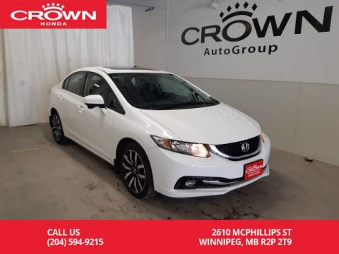 Pre-Owned 2015 Honda Civic Sedan Touring/ONE OWNER LEASE RETURN/NAVIGATION/REMOTE START/BACK UP CAM/SUNROOF/ECON MODE