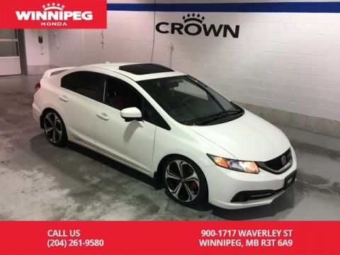Pre-Owned 2015 Honda Civic Sedan Si/Sunroof/Heated seats/Lane watch display/Rear view camera