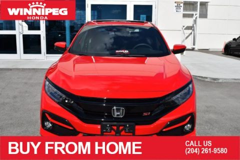 New 2020 Honda Civic Si Sedan Manual