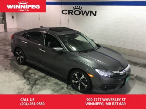 Pre-Owned 2016 Honda Civic Sedan Touring/Navigaiton/Bluetooth/Heated front and rear seats