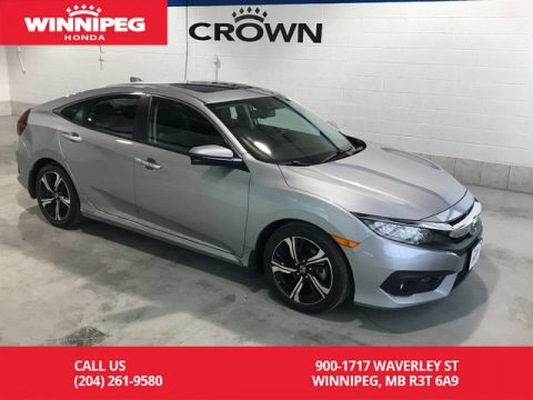 Pre-Owned 2017 Honda Civic Sedan Certified/Touring/Bluetooth/Navigation/Heated seats