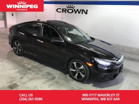 Certified Pre-Owned 2017 Honda Civic Sedan Touring/Navigation/Bluetooth/Heated seats/Leather