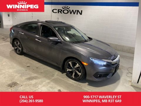 Certified Pre-Owned 2018 Honda Civic Sedan Touring / Certified / Navigation / Heated front and rear seats / 7 year PT warranty