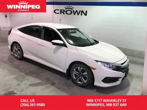 Pre-Owned 2016 Honda Civic Sedan LX/Bluetooth/Heated seats/Rear view camera/Apple car play