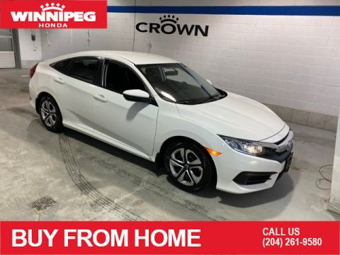 Certified Pre-Owned 2018 Honda Civic Sedan LX / Certified / 6 speed / Heated seats / 7 year PT warranty