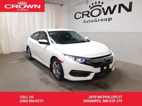 Certified Pre-Owned 2016 Honda Civic Sedan LX/ONE OWNER/ LOW KMS/ BACK UP CAM/REMOTE START// HEATED SEATS/ REMOTE START/ BLUETOOTH/ ECON MODE/HEATED SEATS