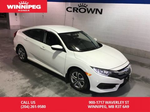 Pre-Owned 2017 Honda Civic Sedan 4dr CVT LX