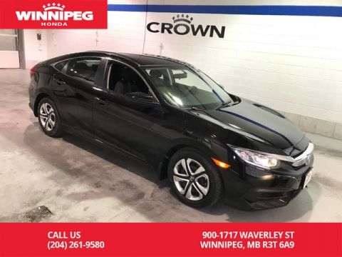 Certified Pre-Owned 2016 Honda Civic Sedan Certified/Bluetooth/Heated seats/Rear view camera