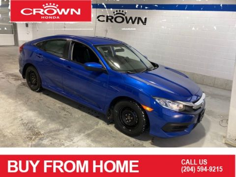Certified Pre-Owned 2018 Honda Civic Sedan LX / Certified / 7 Year warranty / Apple car play / Heated seats