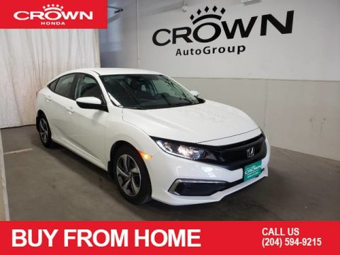 Pre-Owned 2019 Honda Civic Sedan LX CVT, Apple CarPlay & Anroid Auto through Bluetooth Connection. A built-in Back-Up Camera, Lane Departure Warning