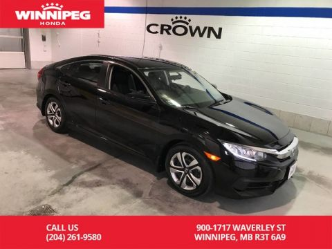 Certified Pre-Owned 2016 Honda Civic Sedan Certified/LX/Bluetooth/Heated seats/Rear view camera