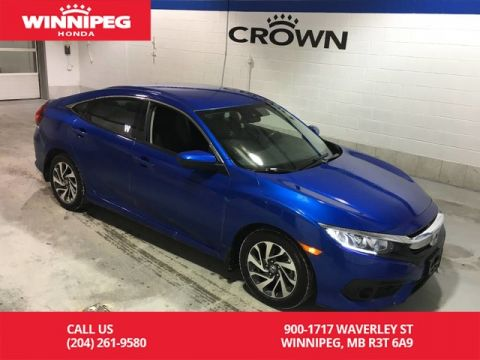Certified Pre-Owned 2018 Honda Civic Sedan SE/Certified/Heated seats/Rear view camera/Bluetooth