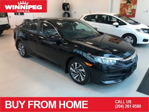 Pre-Owned 2016 Honda Civic Sedan EX / Sunroof / Heated seats / Lane watch camera / Rear view came