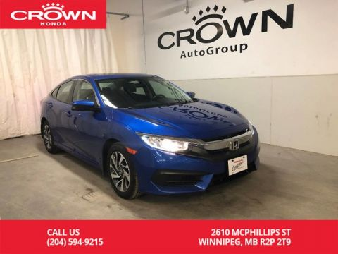 Pre-Owned 2016 Honda Civic Sedan 4dr CVT EX/ ONE OWNER/ BACKUP CAMERA/ SUNROOF/ BLUETOOTH