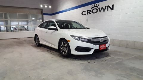 Pre-Owned 2016 Honda Civic Sedan EX Sedan **Sunroof** Low Kms **
