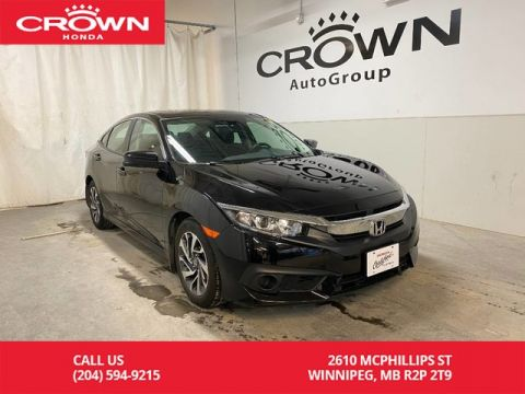 Pre-Owned 2017 Honda Civic Sedan 4dr CVT EX/ ONE OWNER/ LOW KMS/ BLUETOOTH/ HEATED FRONT SEATS/ BACKUP CAMERA