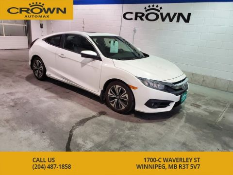 Pre-Owned 2016 Honda Civic Coupe EX-T *Local Manitoba Vehicle*