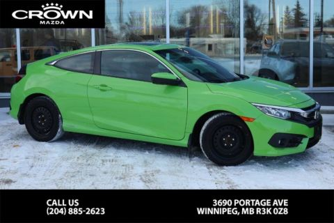 Pre-Owned 2016 Honda Civic Coupe EX-T **Winter Tires Included/Serviced at Winnipeg Honda**