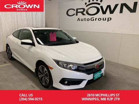 Pre-Owned 2016 Honda Civic Coupe EX-T w/Honda Sensing/one owner/low kms/heated seats/ push start/ back up cam