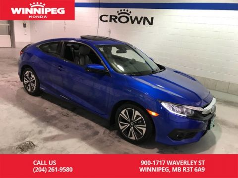 Pre-Owned 2017 Honda Civic Coupe 2dr CVT EX-T w/Honda Sensing