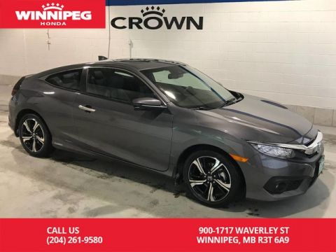 Pre-Owned 2018 Honda Civic Coupe Touring/Manager special/Only 1000 kms/ Fully loaded