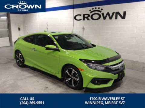 Pre-Owned 2016 Honda Civic Coupe Touring - Automatic - FULLY LOADED! BEST IN MARKET