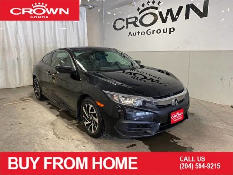 Certified Pre-Owned 2017 Honda Civic Coupe 2dr Man LX/ ONE OWNER/ LOW KMS/ HEATED FRONT SEATS/ BACKUP CAMERA/ APPLE CARPLAY/ ANDROID AUTO